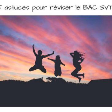 5 techniques pour réussir tes révisions BAC SVT